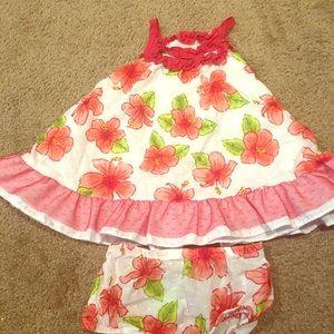 Cute little summer dress with matching undies
